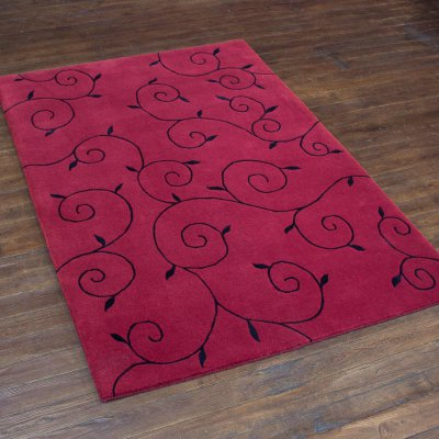 Hand-Knotted Nepalese 100 Knot Rug From Nepal