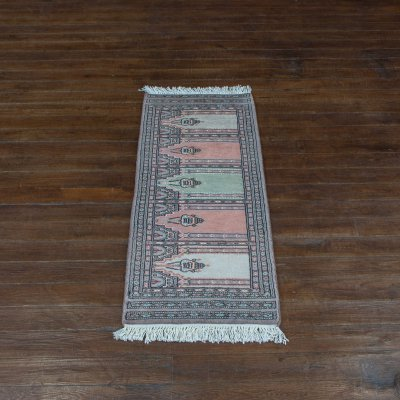 Hand-Knotted Jaldar Runner From Pakistan