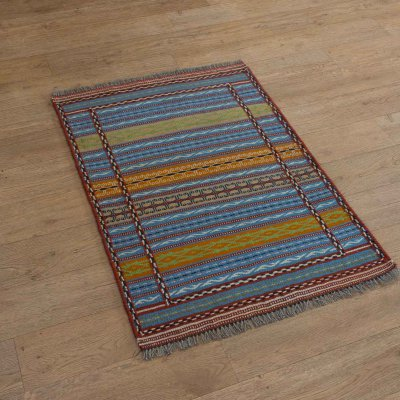 Hand-Woven Kordy Kilim From Iran (Persian)