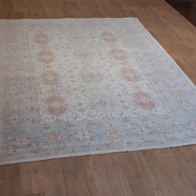 Hand-Knotted Aryana Ziegler Rug From Afghanistan