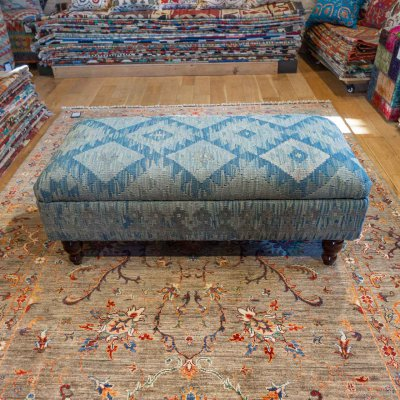 Hand Made Mazar Stool Kilim Stool From Afghanistan