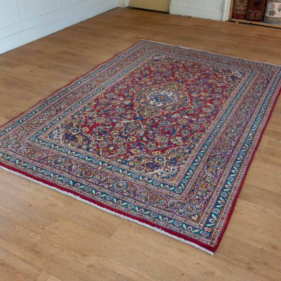 Hand-Knotted Meshed    Rug From Iran (Persian)