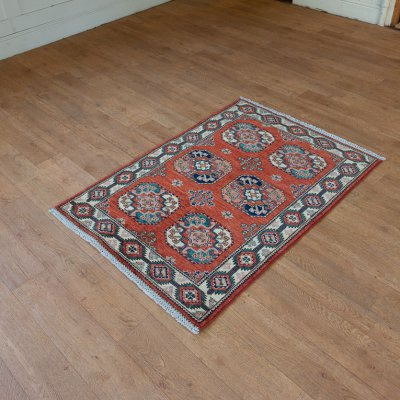 Hand Knotted Ersari Rug From Pakistan