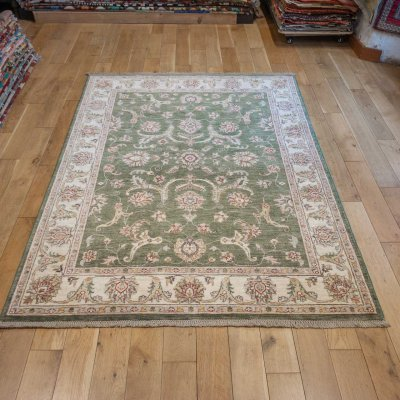 Hand-Knotted Sultanabad Rug From Afghanistan