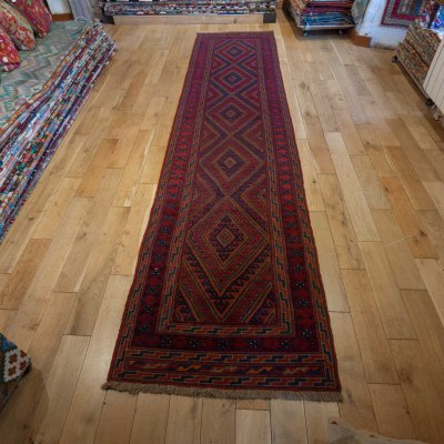 Hand Made Mushwani Runner From Afghanistan