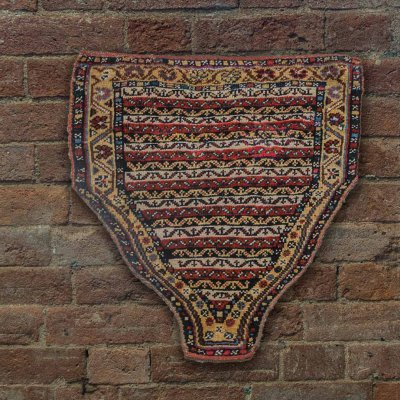 Hand Knotted Rizini Caucasian Wall Hanging From Iran (Persian)