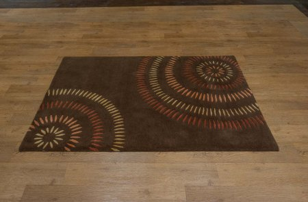 Hand-Knotted Nepalese 60 Knot Rug From Nepal