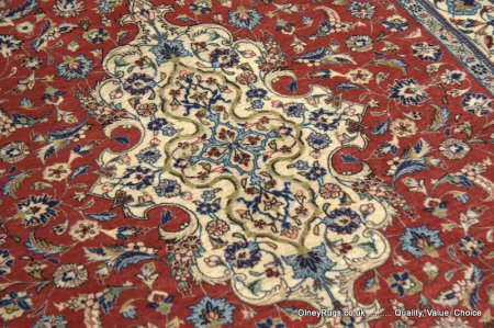 Hand-Knotted Eilam Fars Rug From Iran (Persian)