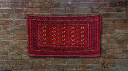 Hand Knotted Sharkh Wall Hanging From Afghanistan