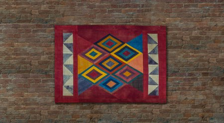 Hand Made Kilim Art Wall Hanging From Turkey