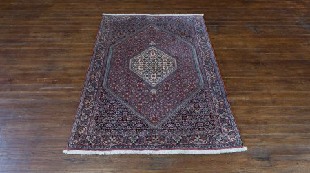 Hand-Knotted Bidjar Rug From Iran (Persian)