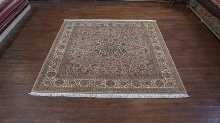 Hand-Knotted Nazari Palace Rug From Afghanistan