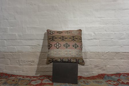 Hand Made Konya Kilim Cushion From Turkey