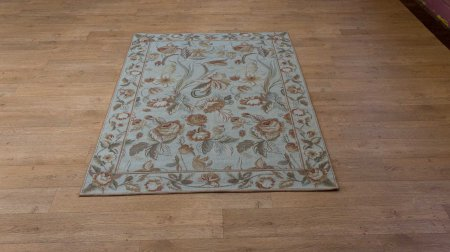 Hand Made Needlepoint Rug From China