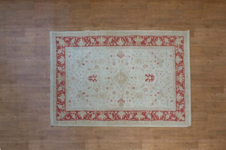 Hand Knotted Sultanabad Rug From Afghanistan