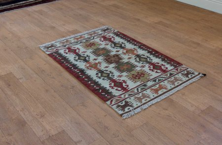 Hand Woven Ankara Kilim From India