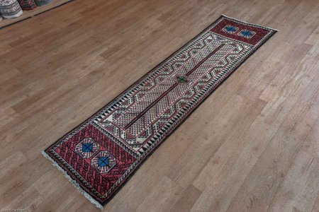 Hand-Knotted Kalat Runner From Iran (Persian)