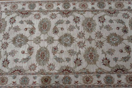 Hand Knotted Indo Ziegler Rug From India