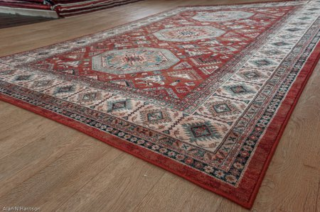 Wool Wilton Kashqai Rug From Belgium