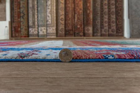 Hand Knotted Kashgari Rug From Afghanistan