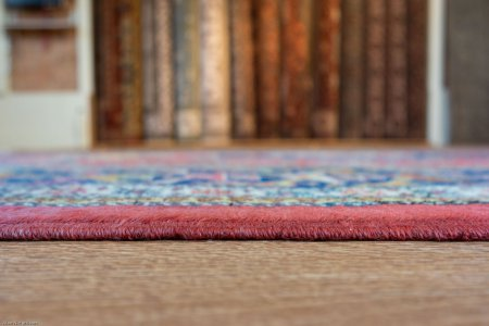 Hand-Knotted Shirvan Design Rug From Pakistan