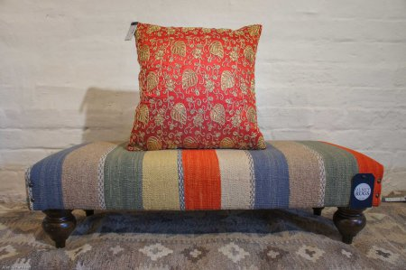Hand Made Embroidered Cushion From India
