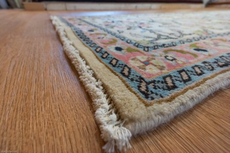 Hand-Knotted Tabriz Runner From Iran (Persian)