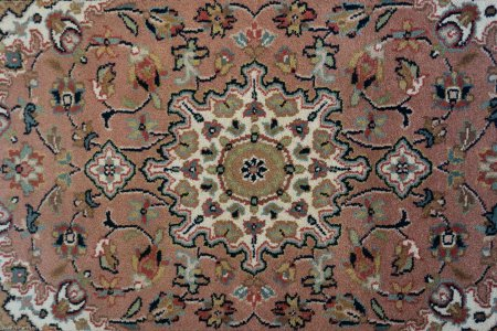 Hand-Knotted Surendra Rug From India