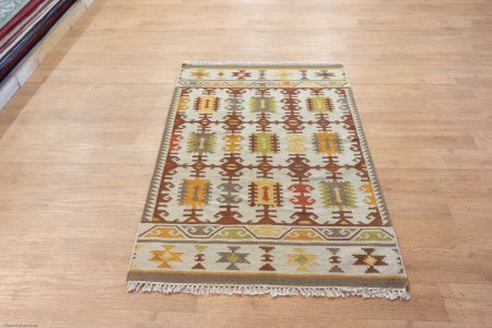 Hand Made Kilim Kilim From Iran (Persian)