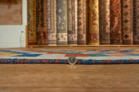Hand Knotted Gabbeh Rug From Iran (Persian)