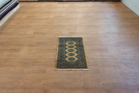 Hand Knotted Bokhara Rug From Pakistan