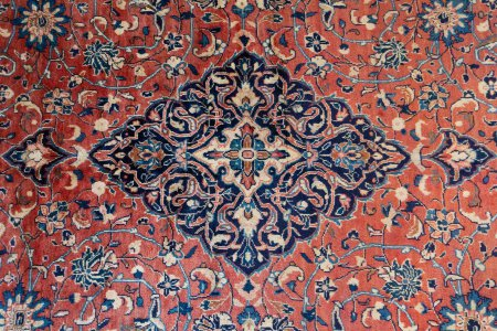Hand Knotted Sarouq Rug From Iran (Persian)