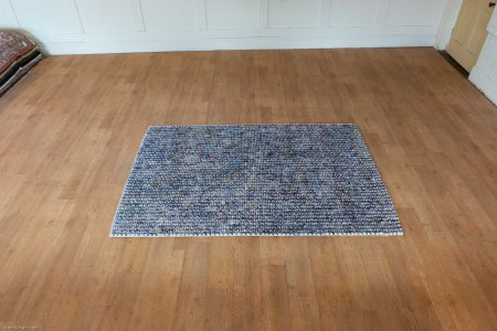 Hand-Knotted Rothco Rug From India