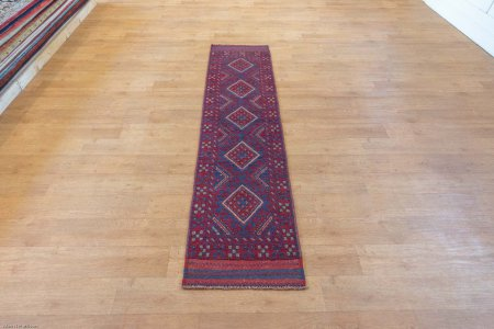 Hand-Knotted Mushwani Runner From Afghanistan