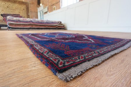Hand Knotted Mushwani Rug From Afghanistan