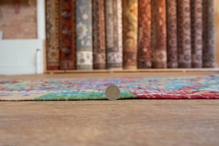 Hand Made Mazar Kilim From Afghanistan