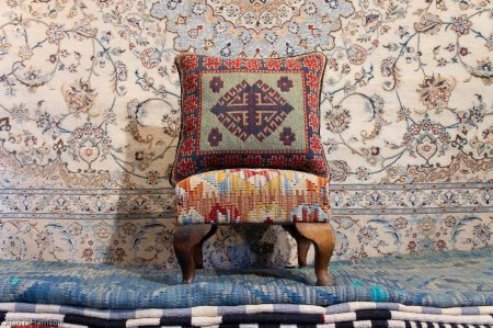 Hand Made Mazar Cushion From Afghanistan