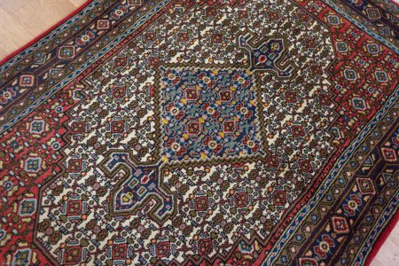 Hand Knotted Senneh Rug From Iran (Persian)