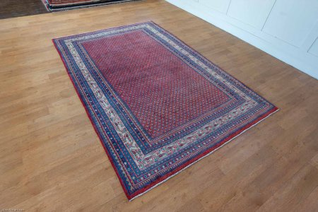Hand Knotted Mir Rug From Iran (Persian)