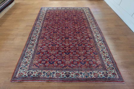 Hand Knotted Mahal Rug From Iran (Persian)
