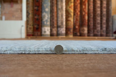 Hand-Knotted Berber Natural Runner From Afghanistan
