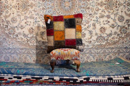 Hand Made Patchwork Kilim Cushion From Afghanistan
