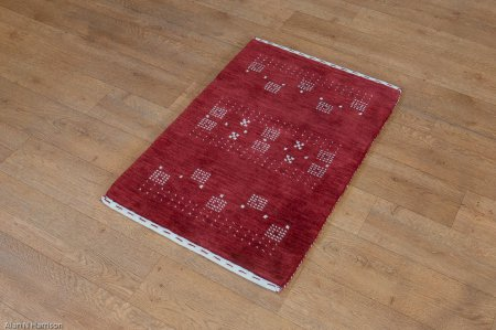 Hand Made Indo Gabbeh Rug From India