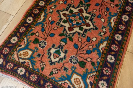 Hand-Knotted Mehreban Rug From Iran (Persian)