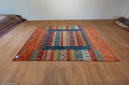 Hand-Knotted Luribaff Rug From Iran (Persian)