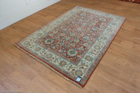 Hand Knotted Indo Persian Rug From India Sn 24119 Olney Oriental Rugs