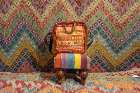 Hand Made Kilim Bag From Iran (Persian)