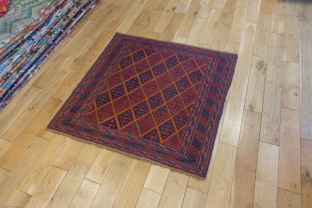 Hand Made Mushwani Rug From Afghanistan