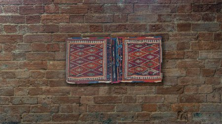 Hand Knotted Afshah Wall Hanging From Iran (Persian)