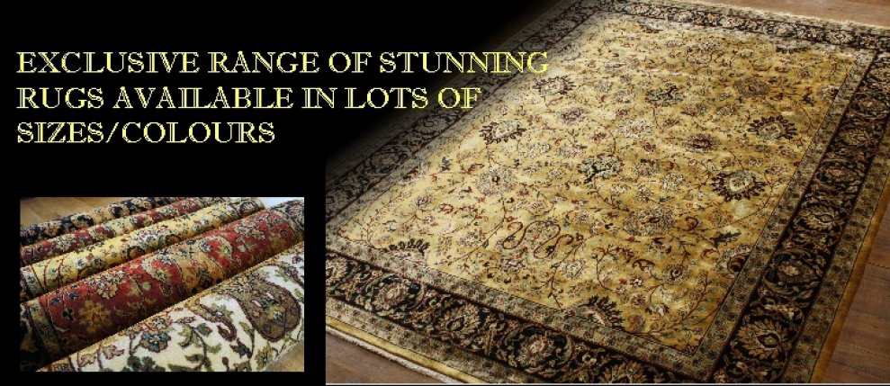 Exclusive range of oriental rugs